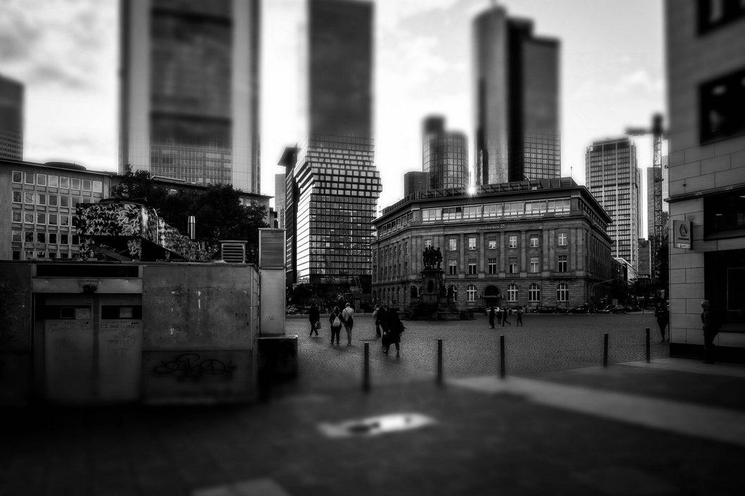 bankenviertel Frankfurt urban Photography