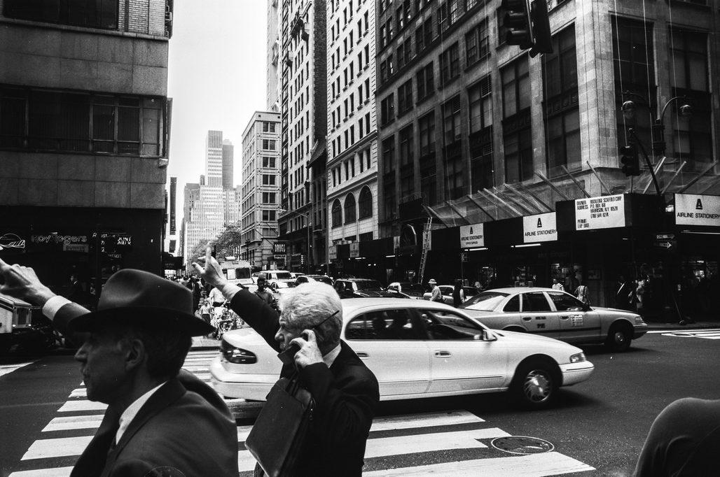 new york city analoge Street Photography